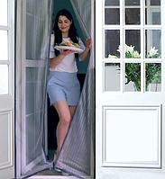 Москитная сетка для дверей на магнитах MVM (0,72 м х 2,2 м) (для балконных дверей)