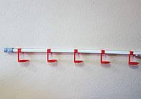 Комплект линии поения птица (на пять ниппелей (1метр. 50голов)