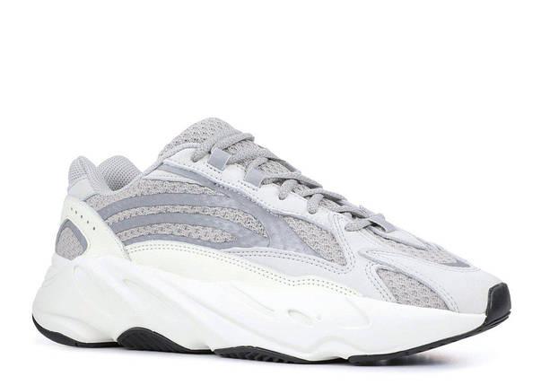 Женские Кроссовки Adidas YEEZY 700 BOOST Grey/White, фото 2