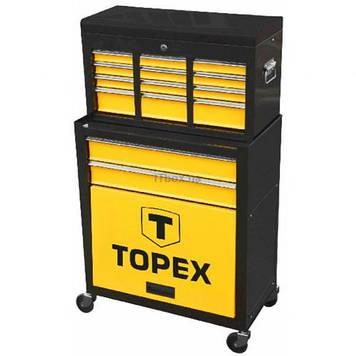 Ящик для инструментов Topex 2 выдвижных ящика (79R500)