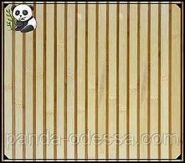 "Бамбуковые обои ""Зебра Белая"", 2 м, ширина планки 17/5 мм / Бамбукові шпалери"