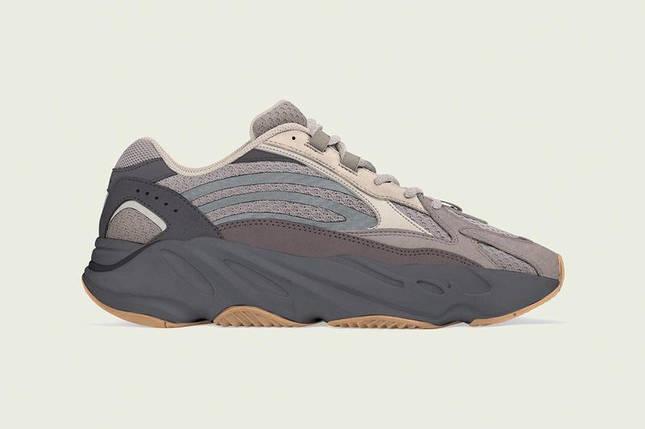 Кроссовки Adidas YEEZY 700 BOOST Grey/Black/Brown, фото 2