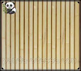 "Бамбуковые обои ""Зебра Белая"", 2.5 м, ширина планки 17/5 мм / Бамбукові шпалери"
