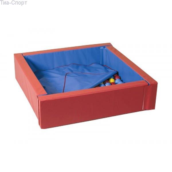 Сухой бассейн с матом 110-110 см