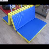 Мат складаний 200-100-10 см з 4-х частин