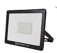 Світлодіодний прожектор 100w Premium 9000Lm 6400K IP65 SMD (ЛІД прожектор вуличний), фото 1