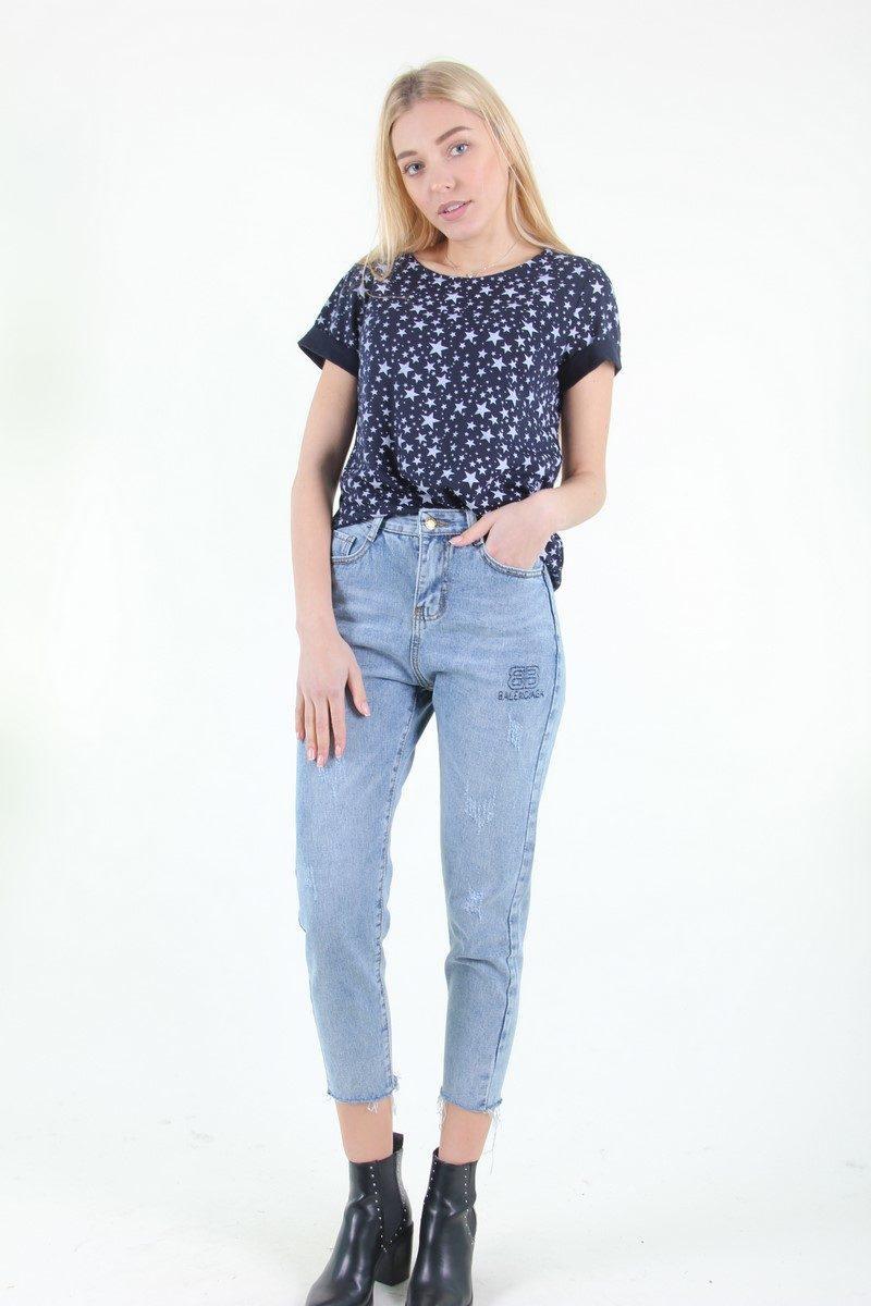 26e5a6ee8c06 Классические светлые женские джинсы