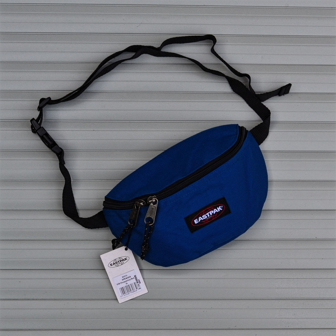 6124fe1a8187 Сумка На Пояс (Поясная сумка,Бананка) Springer Eastpak Blue - Компания