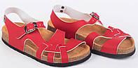 Анатомические сандалии Foot Care FA-107 красные
