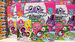 """Настольная игра Hatchimals. 1 яйцо, 3 зверят Хэтчималс  """"The Eggventure Game"""""""