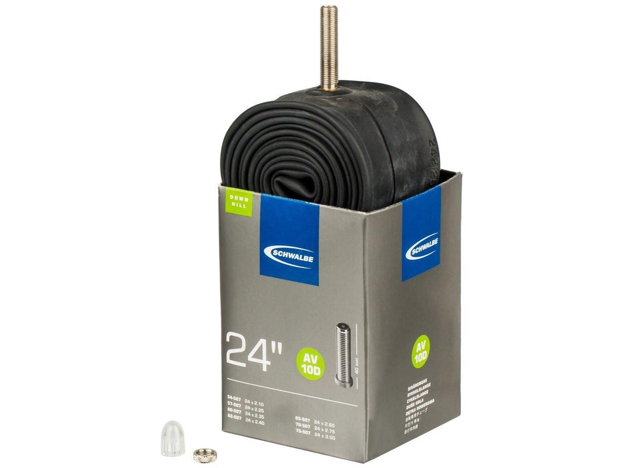 """Камера 24"""" (40/62x507) Schwalbe AV10 (10421310) 40мм EK AGV TUB-02-02"""