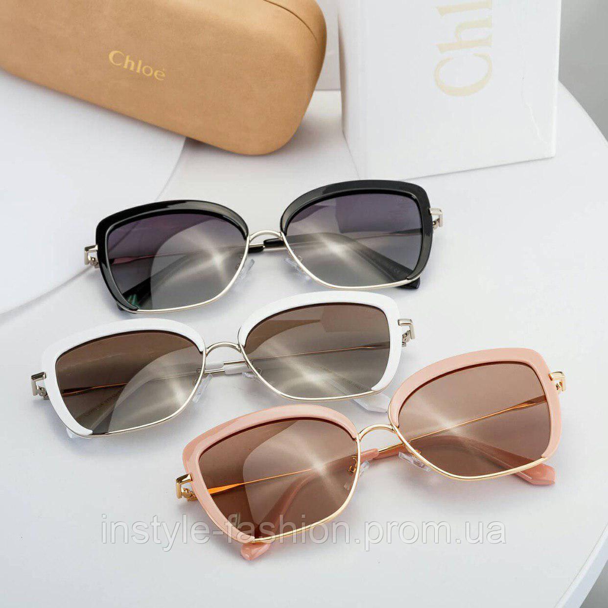 2c2fa80a66fd Брендовые женские очки копия Хлое Chloe выбор цветов: купить ...