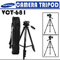 Штатив Yunteng VCT-681 для фото и виде-техники,телефонов