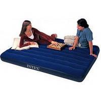 Надувной двухспальный матрас Intex 68759 (152см х203см х 22см)