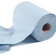 P 148 Паперові рулонні рушники сині MINI
