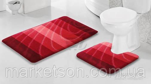 Набор ковриков в ванную и туалет. Турция., фото 2