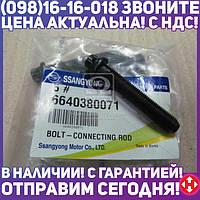⭐⭐⭐⭐⭐ Болт шатунный с двухгранной головкой 2.0xdi/2.7xdi actyon, rexton, kyron (производство  SsangYong)  6640380071