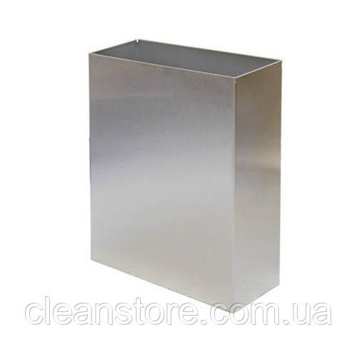 Корзина металева 25л полірована нержавіюча сталь