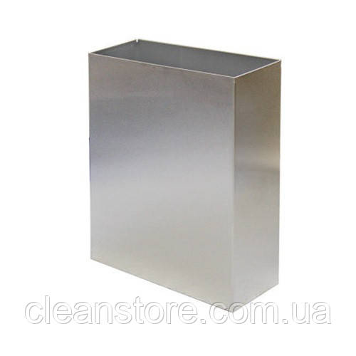 Корзина металлическая 25л полированная нержавеющая сталь