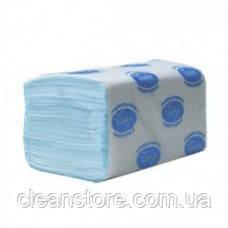 Бумажные полотенца 4000 синие, фото 2