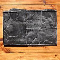 """Резиновый штамп """"Тёсаный камень №3 (добивка)"""" для напольной печати по бетону 360*580 мм"""