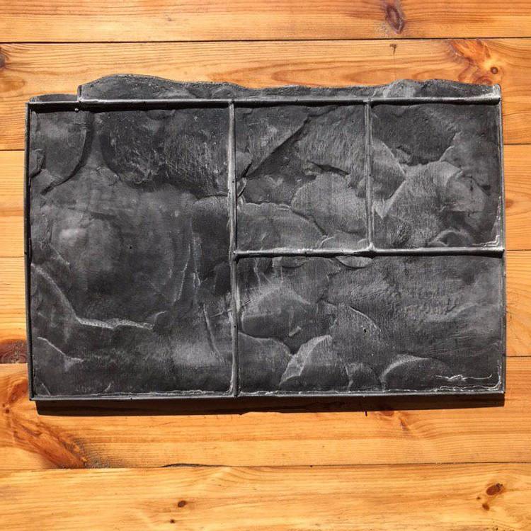 """Резиновый штамп """"Тёсаный камень №3 (добивка)"""" для напольной печати по бетону 360*580 мм, фото 1"""