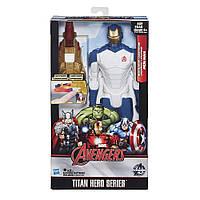 Большая игрушка Железный Человек 30 см, серии Титаны световые эффекты, Titans, Hasbro - 138272