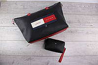 214e5571324c Женская сумка и кошелёк Tommy Hilfiger (томми хилфигер, томми джинс) -  большая косметичка