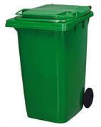 Бак для сміття пластиковий 240л