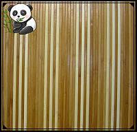 """Бамбуковые обои """"Полосатые 6+1/1"""", высота рулона 0,9 м, ширина планки 8 мм"""