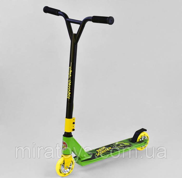 Самокат трюковый 79322 Best Scooter, d колес - 10 см, колеса PU