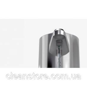 Дозатор жидкого мыла сенсорный 0,237 л  Изготовлен из пластика с сатиновой отделкой/прозрачного, фото 2