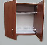 Сушарка для посуду 50см в шафі з петлями, фото 4