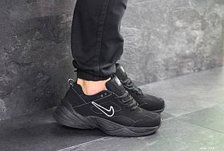 Чорні чоловічі кросівки нубук 15\7527, фото 2