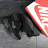 Черные мужские кроссовки нубук 15\7527, фото 2