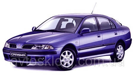 Стекло лобовое, заднее, боковые для Mitsubishi Carisma (Седан, Хетчбек) (1995-2004)