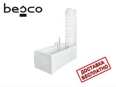Шторка на ванну Besco PMD Ambition -1S (в полоску)