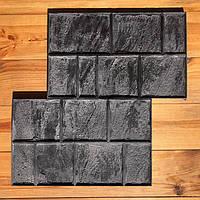 Приморский 49х49 см - штамп из вулканизированной резины для имитации тротуарной плитки