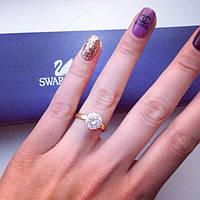 Кольцо женское Луиза золото , бижутерия недорого