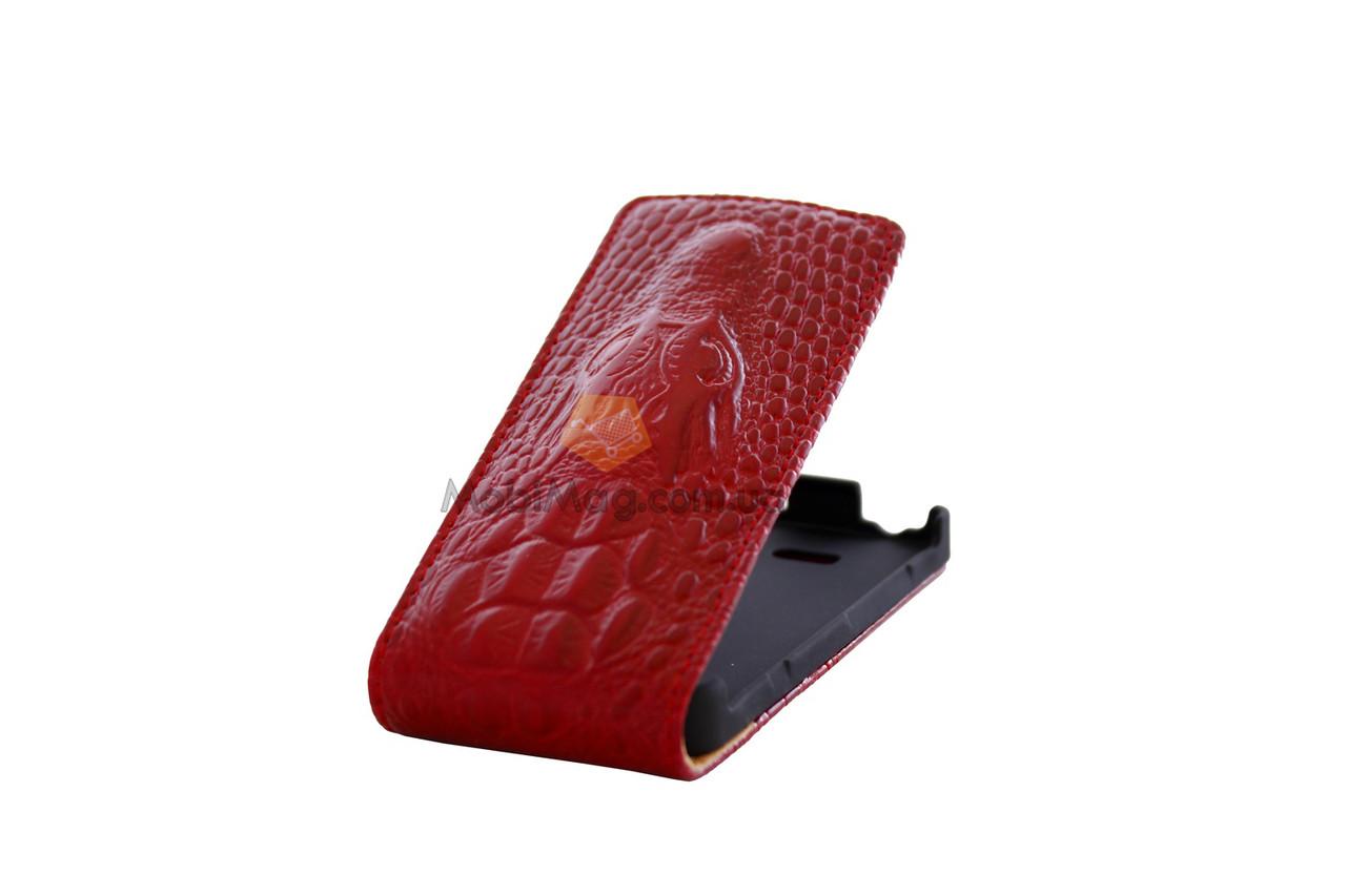 Чехол чешуя Top case iPhone 4G/4S красный