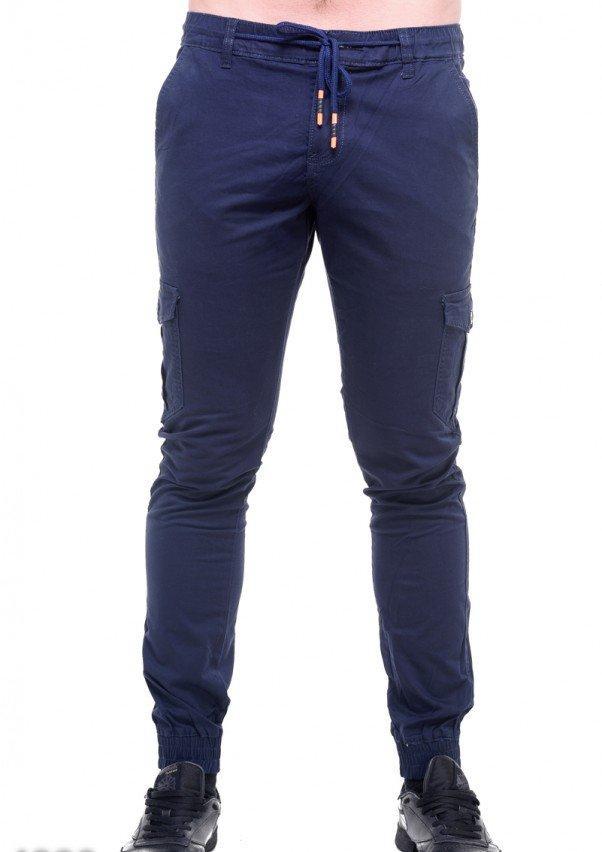 75854356e1ee Синие мужские брюки со шнурком в поясе (33), цена 750,20 грн ...