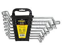Набор ключей накидных изогнутых SIGMA Crv 6-22мм 8 ед6010051