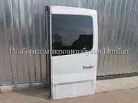 Дверь задняя правая со стеклом Рено Трафик б/у (Renault Trafic II)