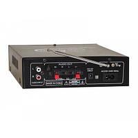 Усилитель звука UKC SN-308BT с радио и Bluetooth, усилитель  FM USB Блютуз