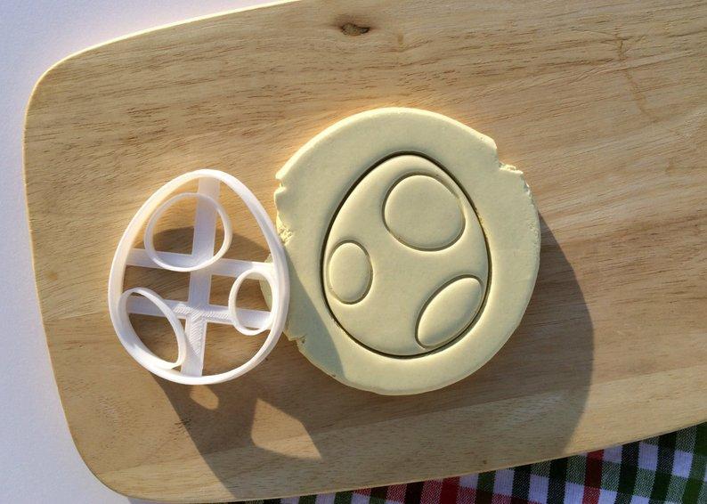 Вырубка каттер пасхальное яйцо, вырубка яйцо, пасхальная вырубка для печенья, Fortune3D