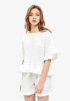 Белая пижама с рюшами, фото 1