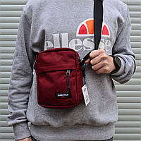 "Сумка-мессенджер Eastpak THE ONE Messenger Bag EK045 33T ""Brave Burgundy""  (реплика)"