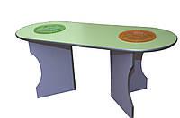 Детский игровой стол для игр с водой и песком