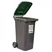 Контейнер з кришкою для сміття 100 л