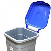 Пластиковий контейнер для сміття, 100 л